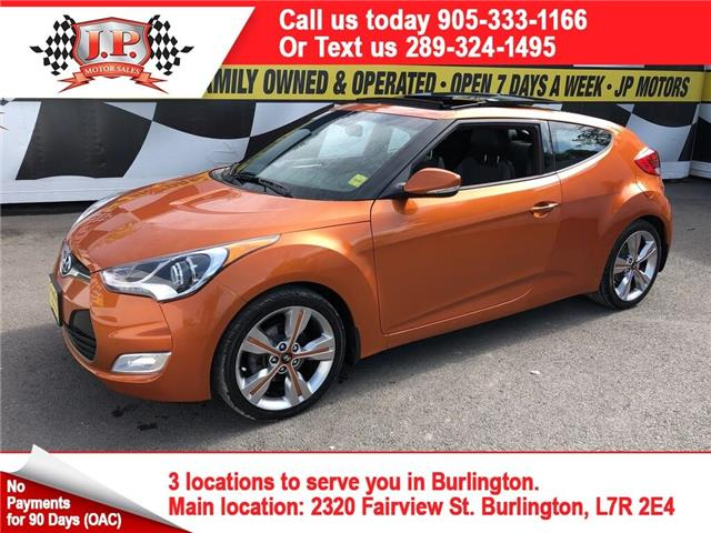 2016 Hyundai Veloster Tech (Stk: 47621) in Burlington - Image 1 of 28