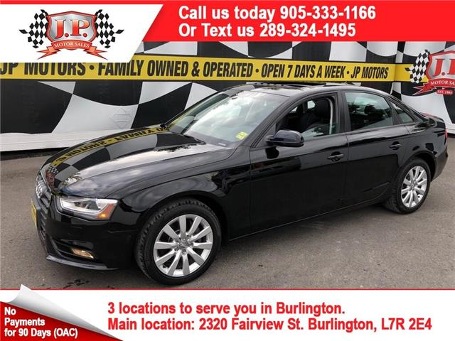 2014 Audi A4 2.0 Komfort (Stk: 47631) in Burlington - Image 1 of 26