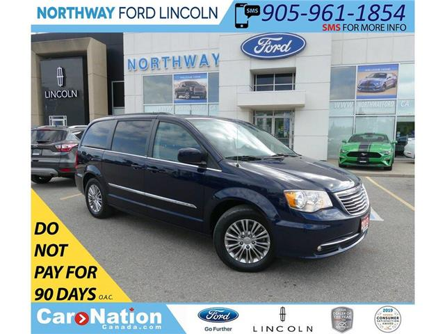 2013 Chrysler Town & Country Touring-L | HTD LEATHER | BACKUP CAM | STOW N GO | (Stk: DR270A) in Brantford - Image 1 of 46