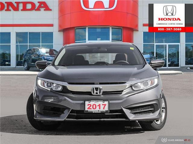 2017 Honda Civic LX (Stk: 18315A) in Cambridge - Image 2 of 27
