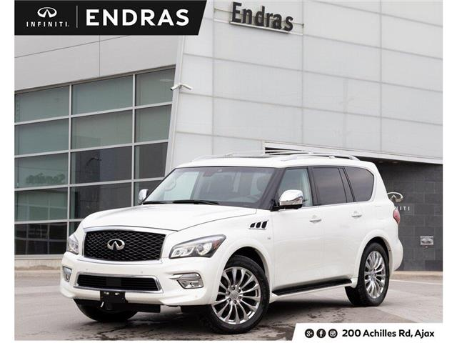 2017 Infiniti QX80  (Stk: P0801) in Ajax - Image 1 of 28