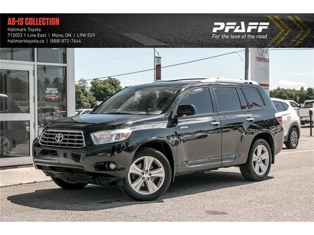 2010 Toyota Highlander 4WD V6 LTD 5A (Stk: HU4674) in Orangeville - Image 1 of 22