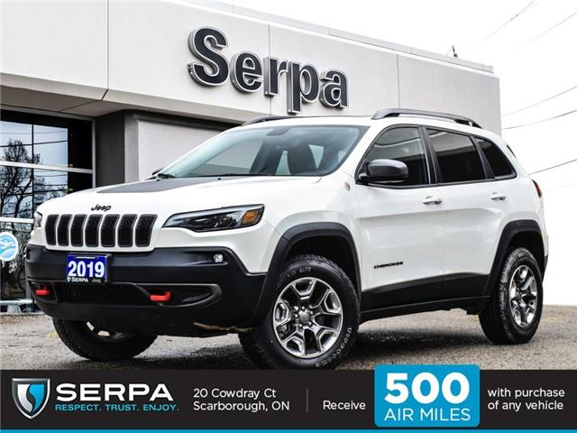2019 Jeep Cherokee 27L Trailhawk Elite (Stk: P9129) in Toronto - Image 1 of 26