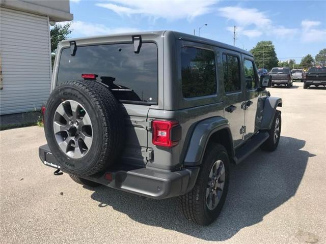 2019 Jeep Wrangler Unlimited Sahara (Stk: W18706) in Newmarket - Image 5 of 21