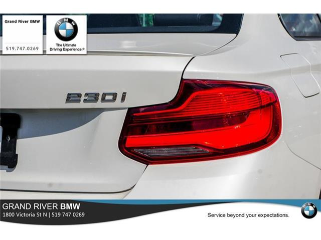 2019 BMW 230i xDrive (Stk: PW4975) in Kitchener - Image 10 of 22