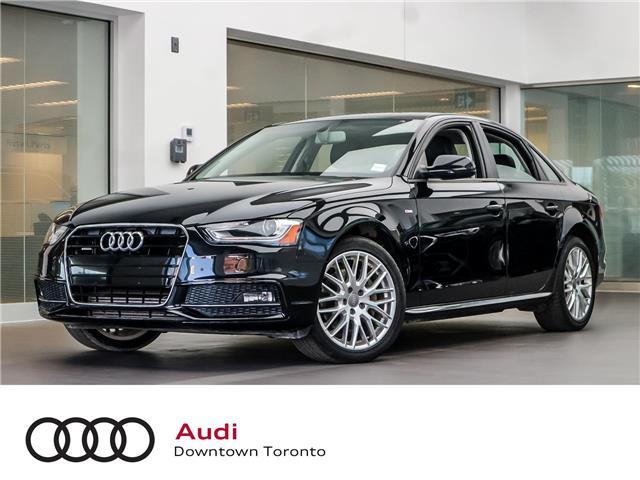 2015 Audi A4 2.0T Komfort plus (Stk: P3151) in Toronto - Image 1 of 25