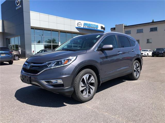 2015 Honda CR-V Touring (Stk: 19T119A) in Kingston - Image 1 of 17