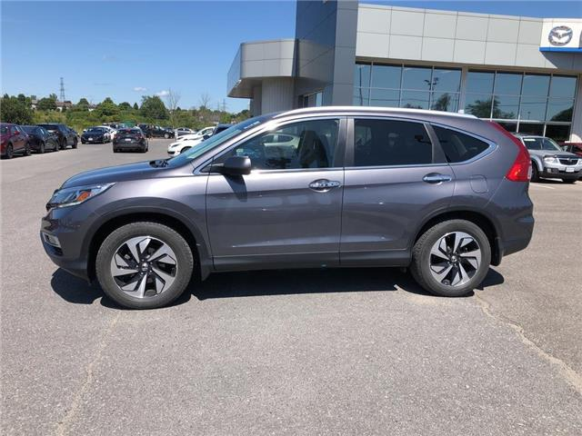 2015 Honda CR-V Touring (Stk: 19T119A) in Kingston - Image 2 of 17