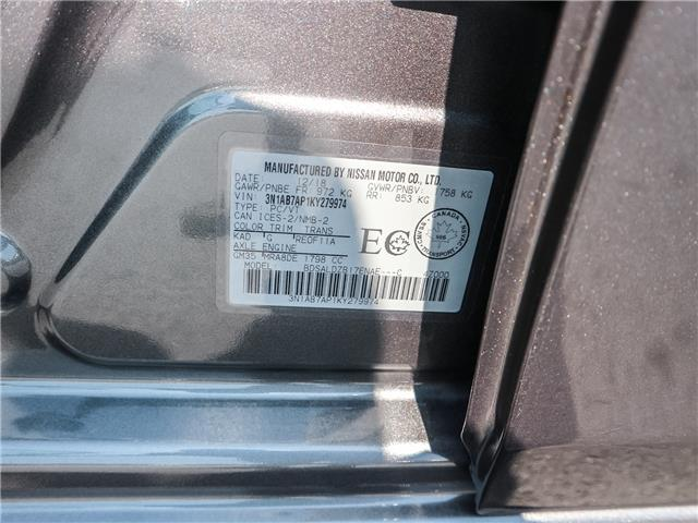 2019 Nissan Sentra 1.8 SV (Stk: P110) in Ancaster - Image 27 of 29
