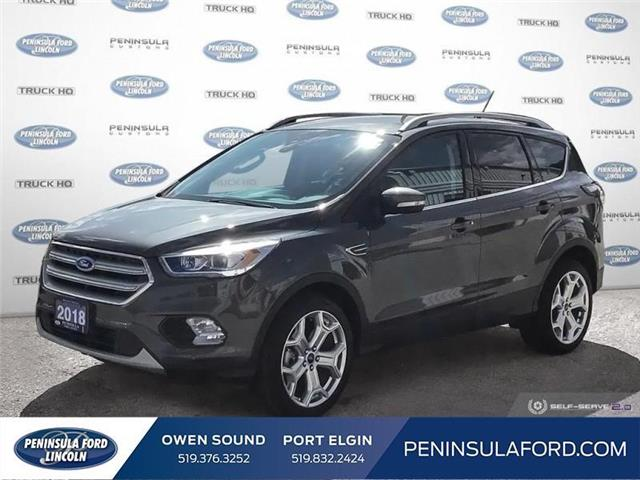 2018 Ford Escape Titanium (Stk: 19FE38B) in Owen Sound - Image 1 of 26