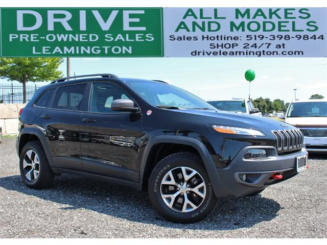 2017 Jeep Cherokee Trailhawk (Stk: D0115A) in Leamington - Image 1 of 30