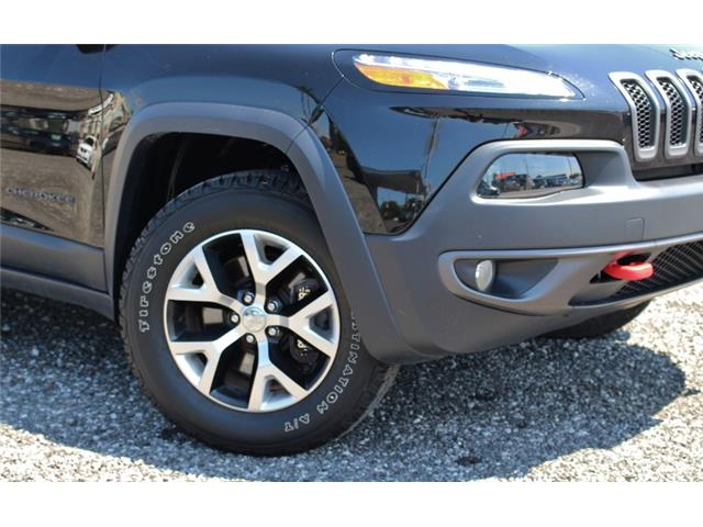2017 Jeep Cherokee Trailhawk (Stk: D0115A) in Leamington - Image 4 of 30