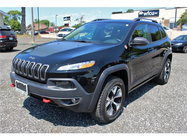 2017 Jeep Cherokee Trailhawk (Stk: D0115A) in Leamington - Image 3 of 30