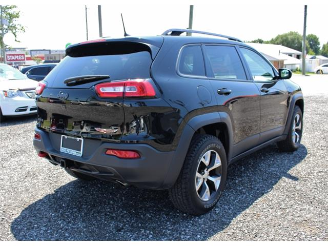 2017 Jeep Cherokee Trailhawk (Stk: D0115A) in Leamington - Image 7 of 30