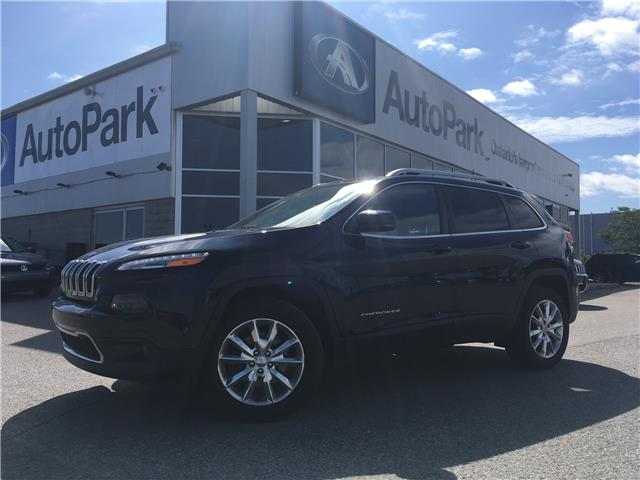 2016 Jeep Cherokee Limited (Stk: 16-29365JB) in Barrie - Image 1 of 30