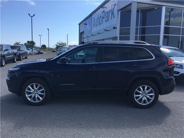2016 Jeep Cherokee Limited (Stk: 16-29365JB) in Barrie - Image 8 of 30