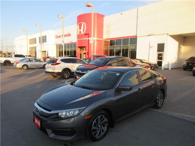 2016 Honda Civic EX (Stk: 27469L) in Ottawa - Image 1 of 17