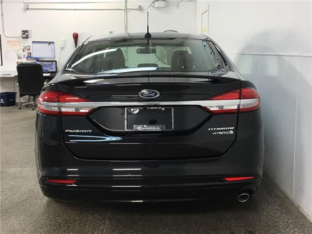 2018 Ford Fusion Hybrid Titanium (Stk: 35507R) in Belleville - Image 5 of 30