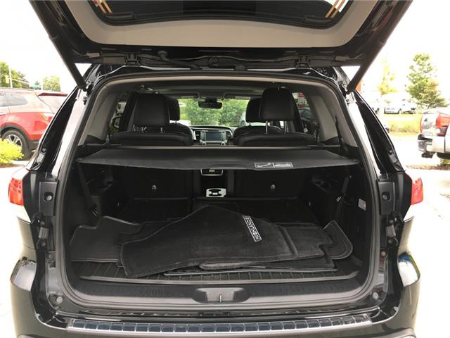 2018 Toyota Highlander XLE (Stk: P1898) in Whitchurch-Stouffville - Image 16 of 18