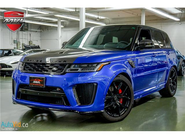 2019 Land Rover Range Rover Sport SVR (Stk: ) in Oakville - Image 39 of 39
