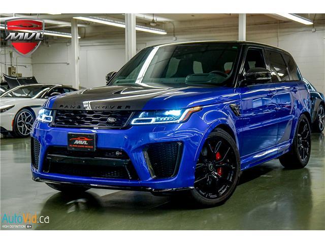2019 Land Rover Range Rover Sport SVR (Stk: ) in Oakville - Image 2 of 39