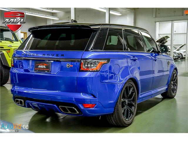 2019 Land Rover Range Rover Sport SVR (Stk: ) in Oakville - Image 6 of 39