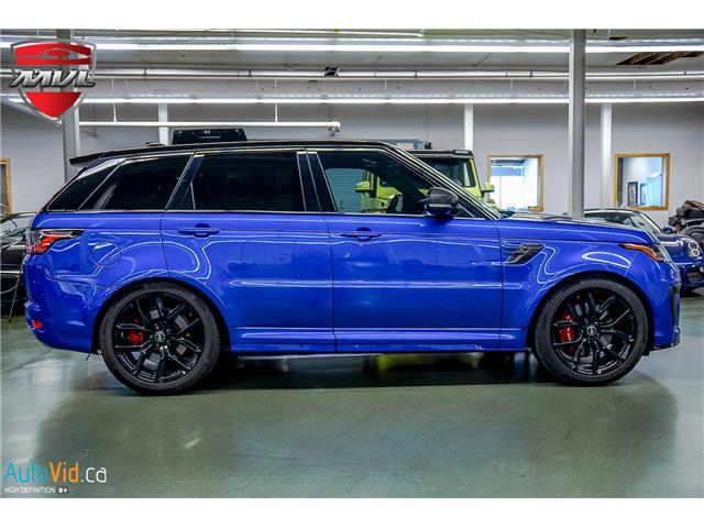 2019 Land Rover Range Rover Sport SVR (Stk: ) in Oakville - Image 7 of 39