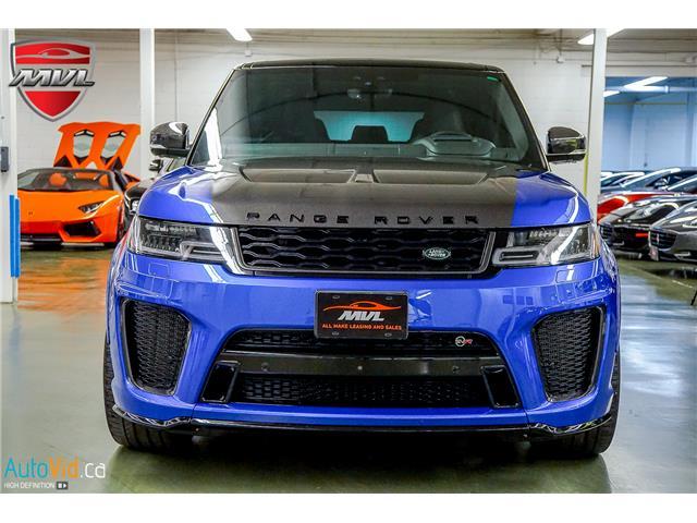 2019 Land Rover Range Rover Sport SVR (Stk: ) in Oakville - Image 9 of 39