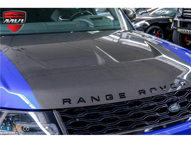2019 Land Rover Range Rover Sport SVR (Stk: ) in Oakville - Image 13 of 39