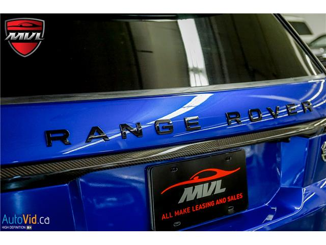 2019 Land Rover Range Rover Sport SVR (Stk: ) in Oakville - Image 16 of 39