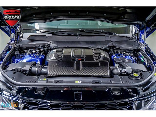 2019 Land Rover Range Rover Sport SVR (Stk: ) in Oakville - Image 37 of 39