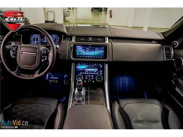 2019 Land Rover Range Rover Sport SVR (Stk: ) in Oakville - Image 25 of 39