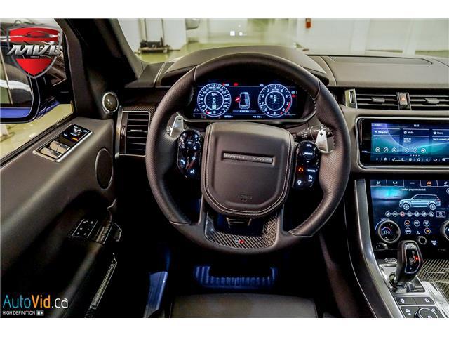 2019 Land Rover Range Rover Sport SVR (Stk: ) in Oakville - Image 27 of 39