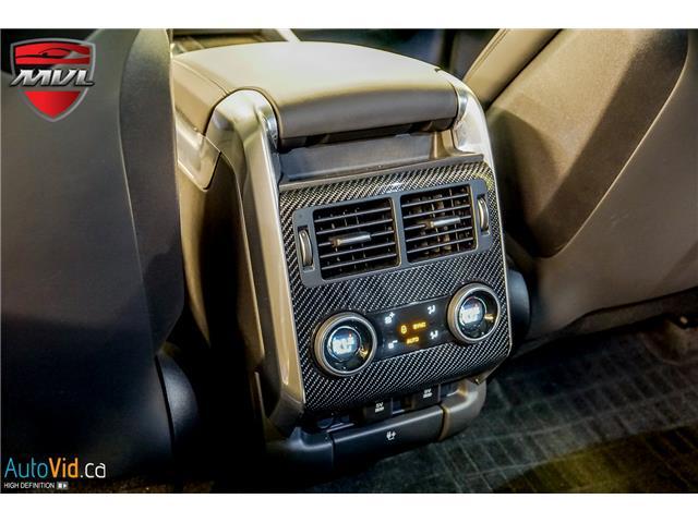 2019 Land Rover Range Rover Sport SVR (Stk: ) in Oakville - Image 35 of 39