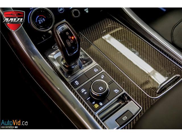 2019 Land Rover Range Rover Sport SVR (Stk: ) in Oakville - Image 32 of 39