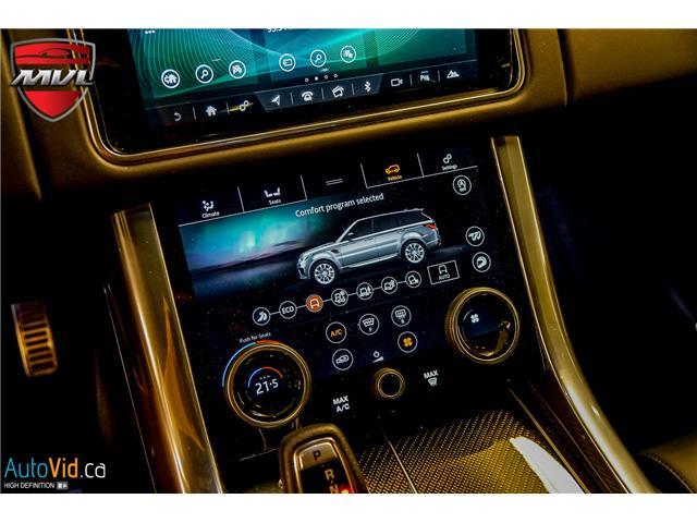 2019 Land Rover Range Rover Sport SVR (Stk: ) in Oakville - Image 31 of 39