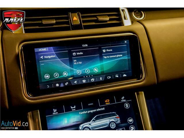 2019 Land Rover Range Rover Sport SVR (Stk: ) in Oakville - Image 29 of 39