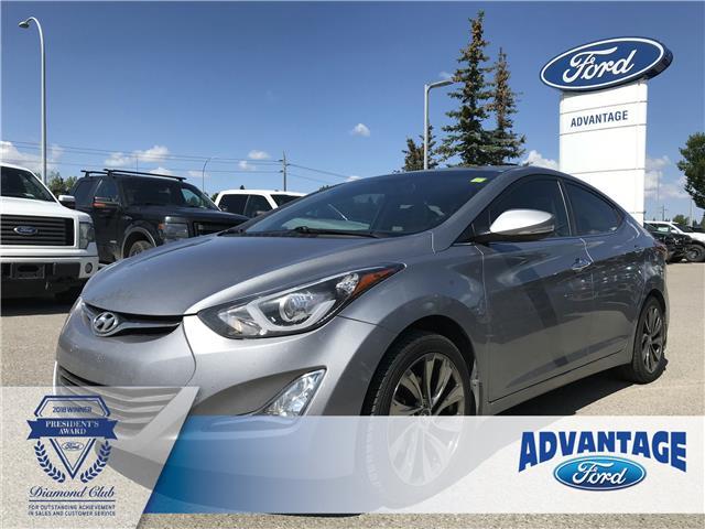 2014 Hyundai Elantra Limited (Stk: K-036A) in Calgary - Image 1 of 18