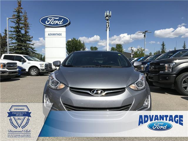 2014 Hyundai Elantra Limited (Stk: K-036A) in Calgary - Image 2 of 18