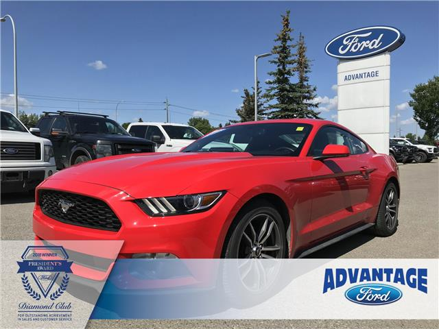 2017 Ford Mustang EcoBoost (Stk: K-052A) in Calgary - Image 1 of 21