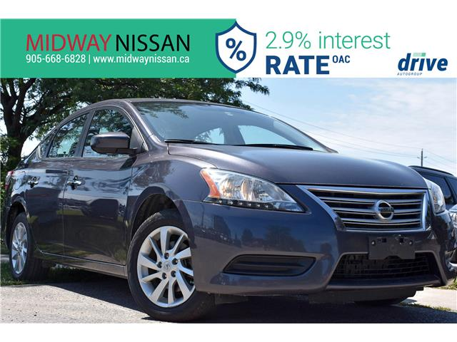 2015 Nissan Sentra 1.8 SV (Stk: U1828) in Whitby - Image 1 of 29