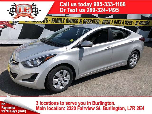 2016 Hyundai Elantra  (Stk: 47176A) in Burlington - Image 1 of 22