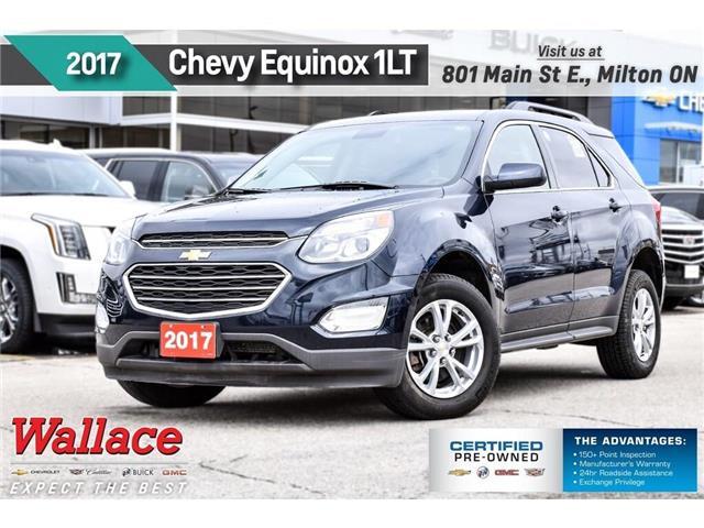 2017 Chevrolet Equinox 1LT/AWD/HTD SEATS/REMTE STRT/CONFDNCE PKG/1OWNR (Stk: PR5064) in Milton - Image 1 of 26