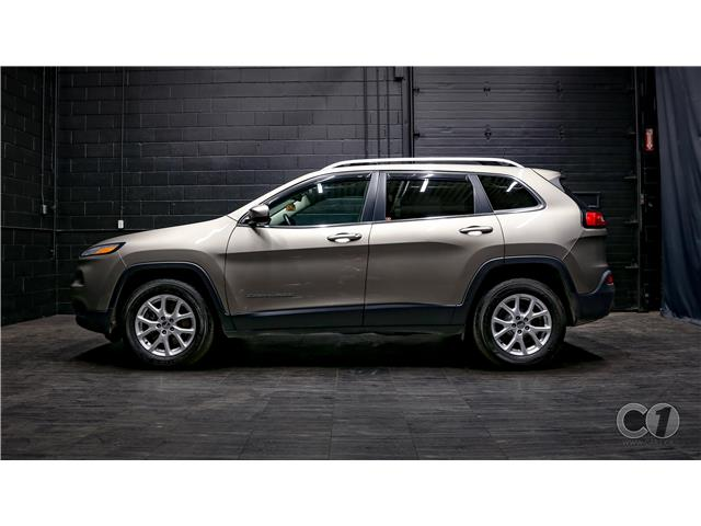 2017 Jeep Cherokee North (Stk: CB19-335) in Kingston - Image 1 of 35