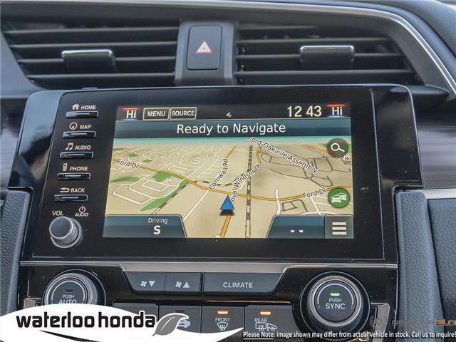 2019 Honda Civic Touring (Stk: H5837) in Waterloo - Image 18 of 23