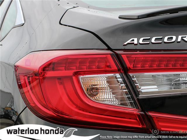 2019 Honda Accord Sport 1.5T (Stk: H5901) in Waterloo - Image 11 of 23