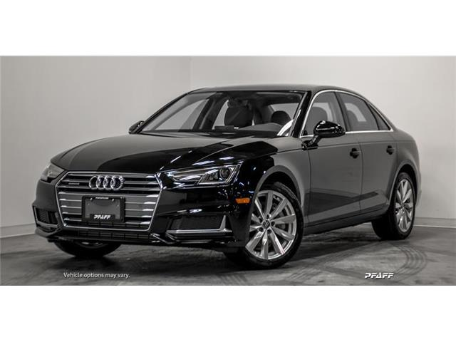 2019 Audi A4 45 Komfort (Stk: T17207) in Vaughan - Image 1 of 17