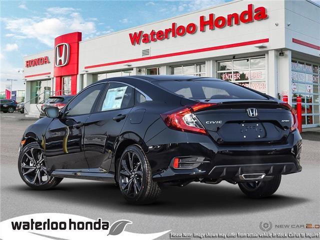 2019 Honda Civic Sport (Stk: H5934) in Waterloo - Image 4 of 23