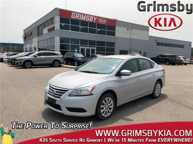 2015 Nissan Sentra  (Stk: U1611A) in Grimsby - Image 1 of 19
