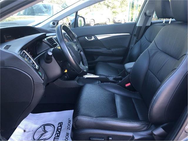 2013 Honda Civic Touring (Stk: U0379) in Cobourg - Image 10 of 26